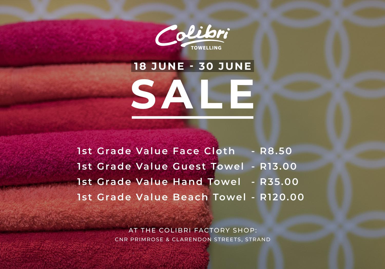 Colibri end June Sale
